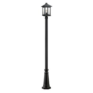 17 Stories Leroy Traditional 1-Light 112.25'' Post Light
