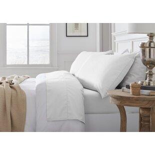 Nava Savannah 300 Thread Count 100% Organic Cotton Sheet Set ByCanora Grey