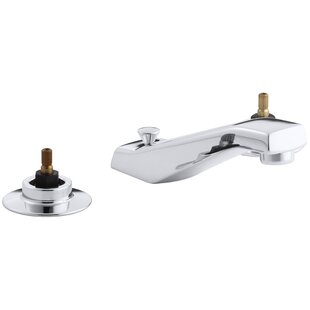 Kohler Triton Widespread Commercial Bathroom Sink Faucet with Standard 5