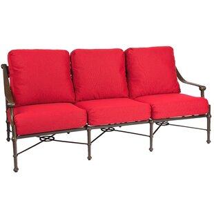 Delphi Patio Sofa With Cushions By Woodard