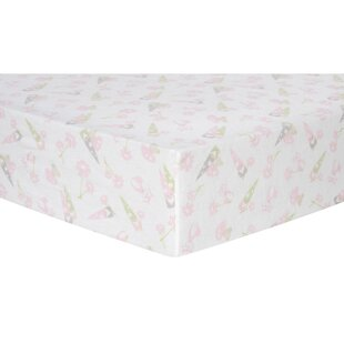 Order Garden Gnomes Deluxe Flannel Fitted Crib Sheet ByTrend Lab