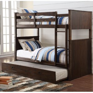 Hector Twin Over Twin Bunk Bed with Trundle by ACME Furniture