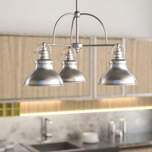 Eden 3-Light Shaded Chandelier by Trent Austin Design