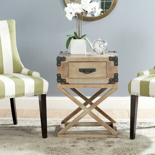 Check Prices Agoura Hills Dunstan End Table With Storage ByTrent Austin Design