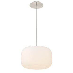 Orren Ellis Kossowski 1-Light Pendant