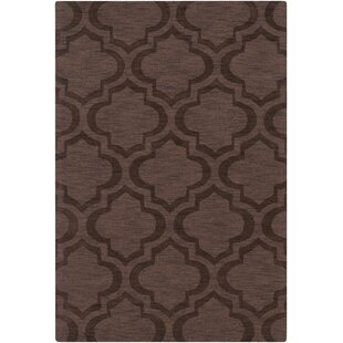 Castro Brown Geometric Kate Area Rug byWrought Studio