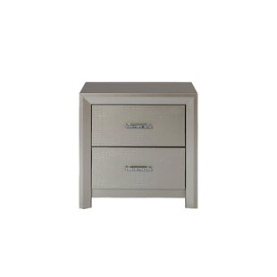 Best Choices Whitlock 2 Drawer Nightstand by Mercer41