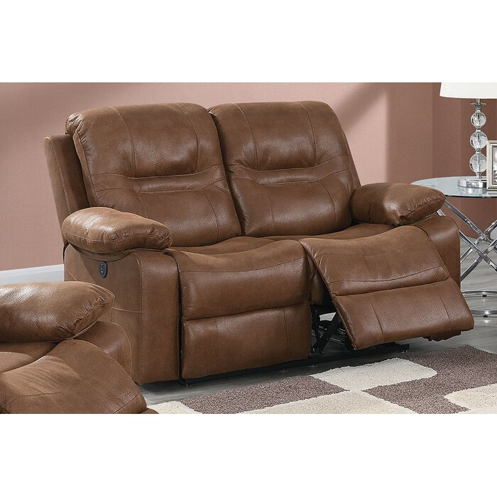 Phenomenal Lospalmos Reclining Loveseat Pabps2019 Chair Design Images Pabps2019Com