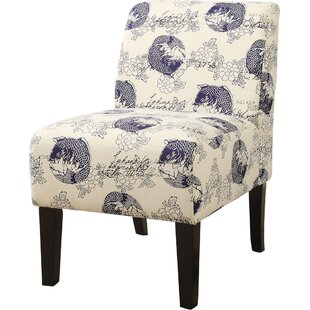 Reviews Javion Slipper Chair by World Menagerie