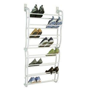Richards Homewares 24 Pair Over The Door Shoe Rack | Wayfair