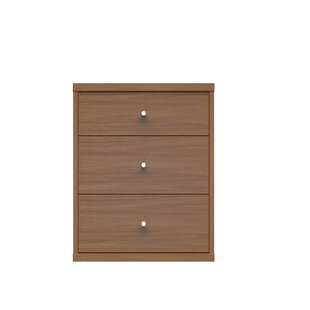 Boulton 3 Drawer Nightstand by Orren Ellis