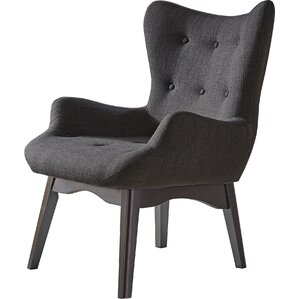 Shuman Wingback Chair by Mercury Row