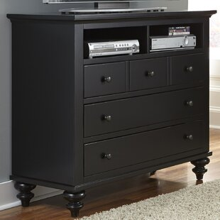 Price comparison Gabrielo 3 Drawer Media Chest By Birch Lane™