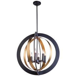 Artcraft Lighting Capri 6-Light Globe Cha..