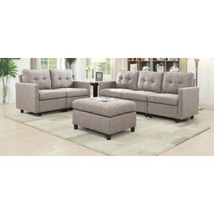 Best Choices Weybridge 3 Piece Living Room Set by Ebern Designs Reviews (2019) & Buyer's Guide