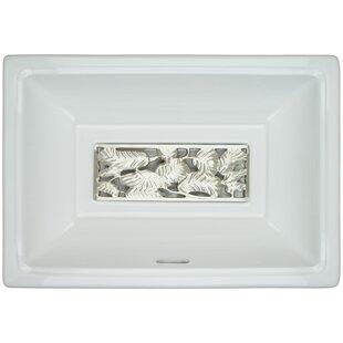 Read Reviews Porcelain Metal Rectangular Undermount Bathroom Sink with Overflow By Linkasink