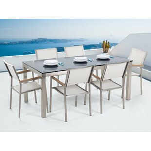 Bishop's Castle 6 Seater Dining Set By Sol 72 Outdoor