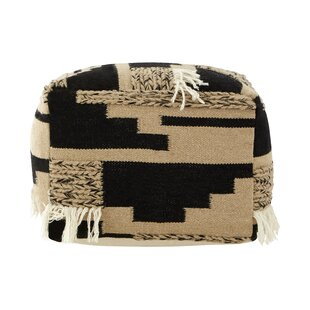 Adonis Trenza Pouffe By World Menagerie