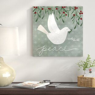Dove Wall Art On Wred Canvas
