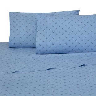 Shark Attack 4 Piece 200 Thread Count 100% Cotton Sheet Set