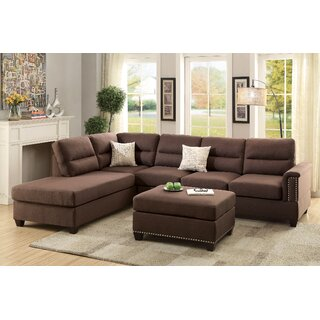 Andy Sectional with Ottoman by A&J Homes Studio SKU:AA805155 Buy