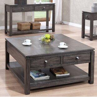 Gracie Oaks Climer 3 Piece Coffee Table Set