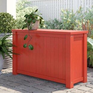 Amarillo Acacia Flip Top Solid Wood Deck Box