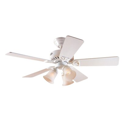 Hunter fan 42 newsome 5 blade ceiling fan reviews wayfair 52 beacon hill 5 blade ceiling fan mozeypictures Gallery