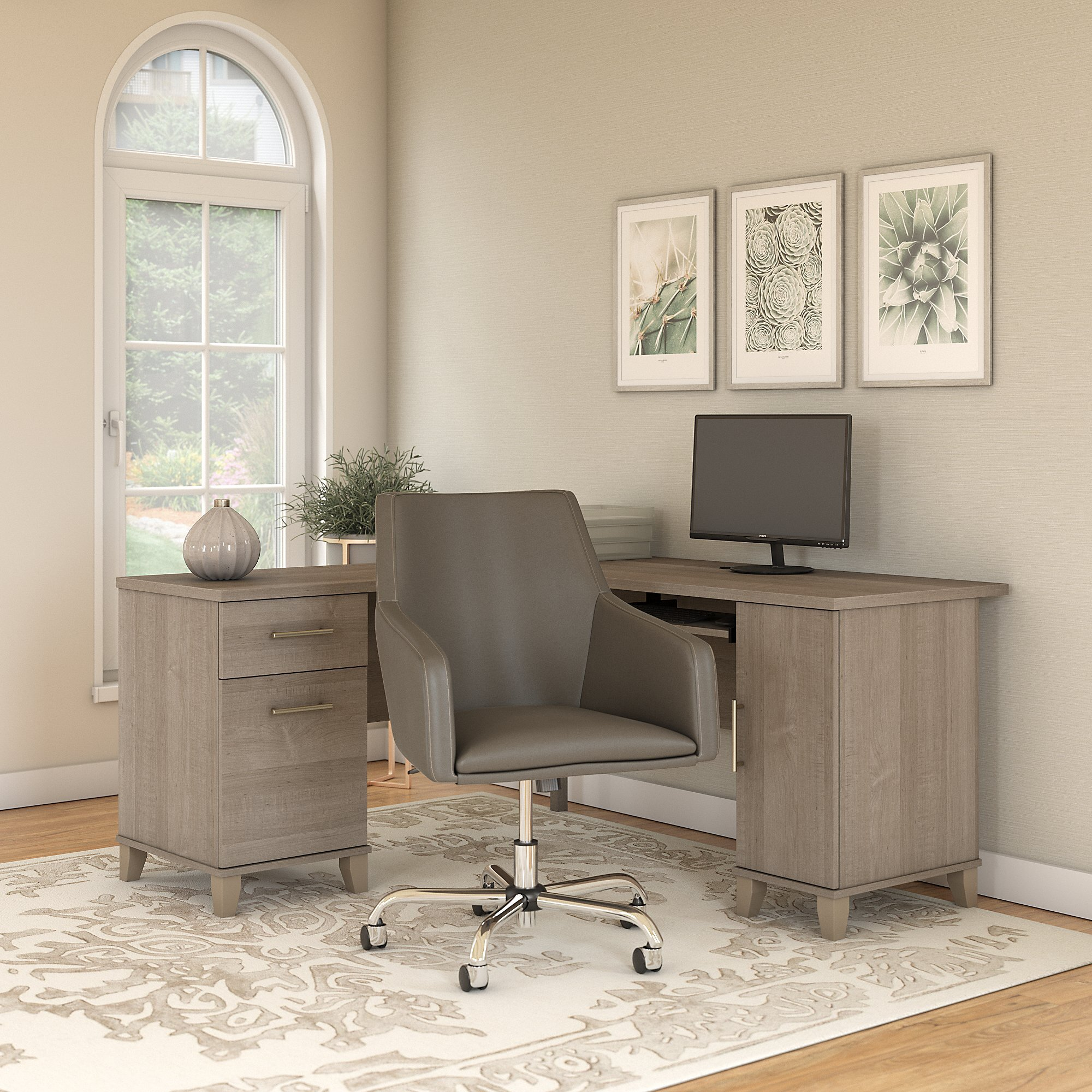 Keyboard Tray Modern Contemporary Office Furniture Sets You Ll Love In 2021 Wayfair