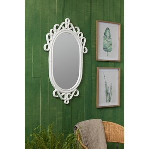 Davey Blue Wall Mirror