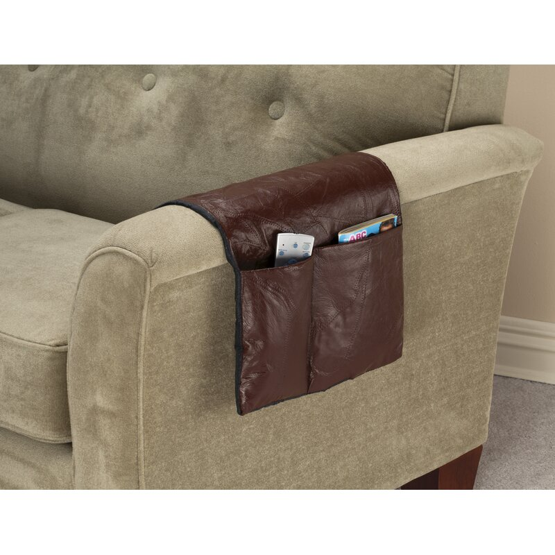 Miles Kimball Leather Armchair Caddy | Wayfair.ca