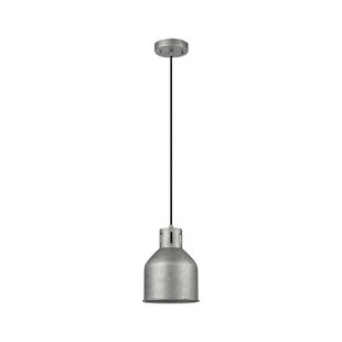 Bronn 1-Light Bell Pendant by Novogratz