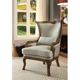 Kongari Wingback Chair by One Allium Way