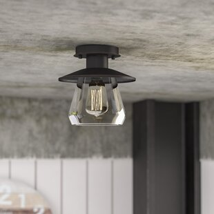 Birmingham La Grange 1-Light Semi Flush Mount by Trent Austin Design