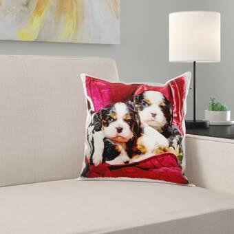 The Holiday Aisle Taplin Ho Ho Ho Stripe Throw Pillow Wayfair