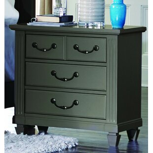 Alcott Hill Gunther 4 Drawer Nightstand
