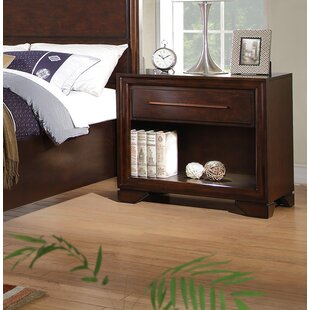 Catania 1 Drawer Nightstand by Fairfax Home Collections