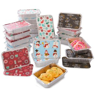 Christmas Treat 24 Container Food Storage Set By The Holiday Aisle