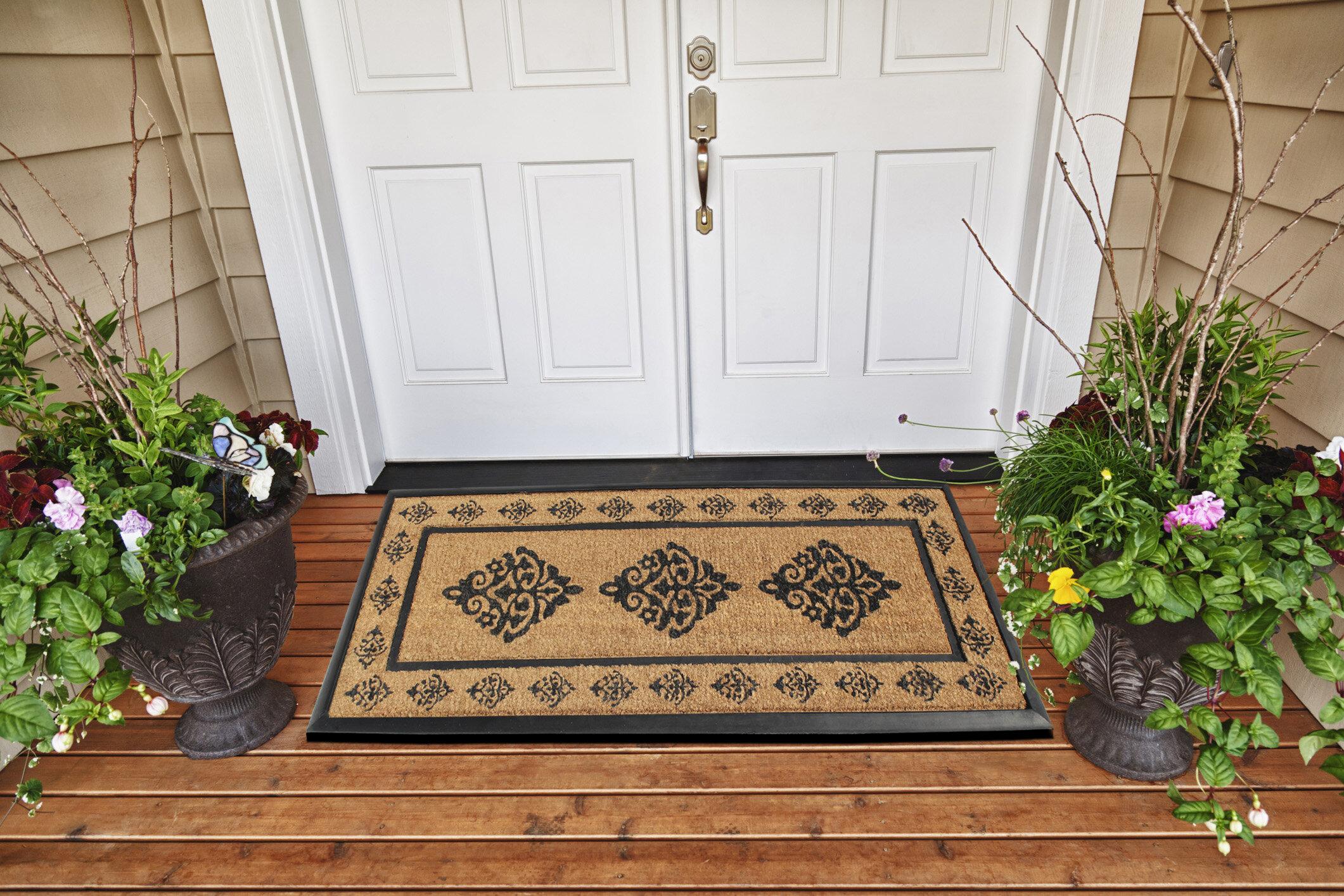 Darby Home Co Steptoe 57 X 24 Non Slip Outdoor Door Mat Wayfair