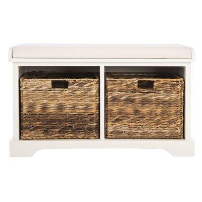 Groovy Trent Austin Design Alonza Pine Wood Storage Bench Color Machost Co Dining Chair Design Ideas Machostcouk
