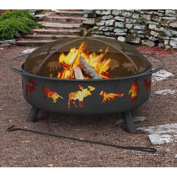Landmann Super Sky Steel Wood Burning Fire Pit Reviews Wayfair