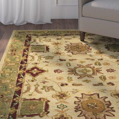 Terrific Ladd Hand Tufted Wool Ivorygreen Area Rug Alcott Hill Rug Bralicious Painted Fabric Chair Ideas Braliciousco