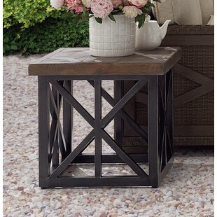 Gracie Oaks Astrid Outdoor End Table