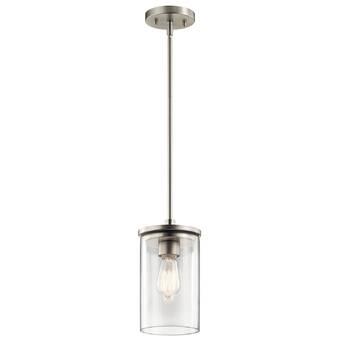 Latitude Run Caulkins 1 Light Single Bell Led Pendant Wayfair