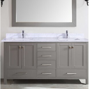 Zeringue 84 Double Bathroom Vanity Set by Brayden Studio