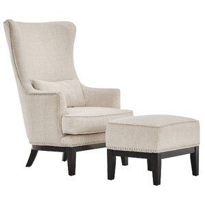 Tisdale Arm Chair & Ottoman
