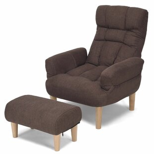 Alaina Lounge Chair and Ottoman  sc 1 st  Wayfair & Chair u0026 Ottoman Sets Youu0027ll Love | Wayfair