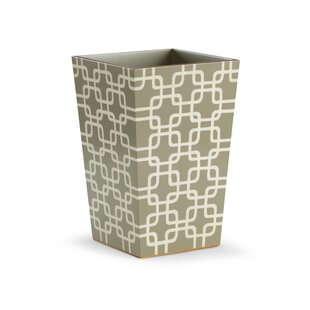 Chelsea House Geometric Waste Basket