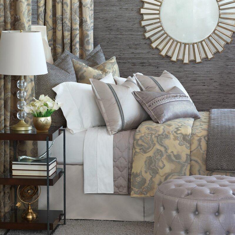 Eastern Accents Amal Abstract Cotton Blend 7 Piece Duvet Cover Set Wayfair