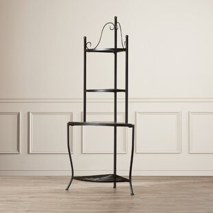 Barker Ridge Wrought Iron Baker's Rack by Alcott Hill